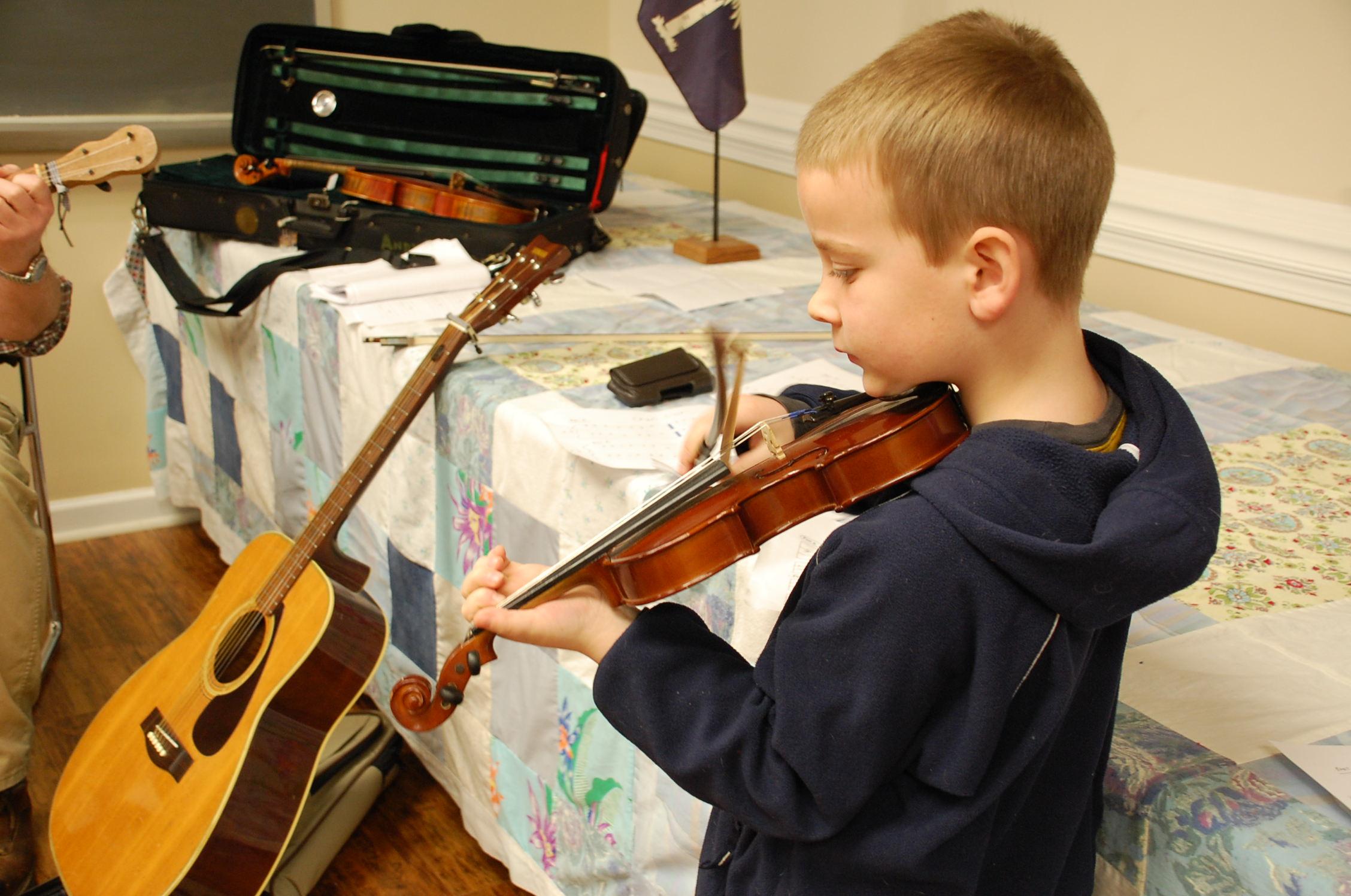 Young Appalachian Musicians -